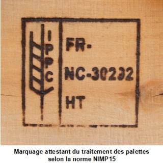 Marquage norme NIMP15, protection des emballages & palettes bois - blog logistique Rotomshop