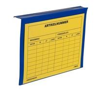 Porte étiquette pour réhausses palettes 235x165mm