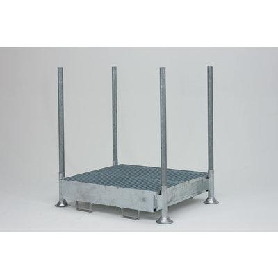 Rack mobile 1400x1035x310mm -220L