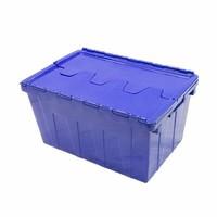 Bac plastique avec couvercle intégré 600x400x230mm - 45 litres