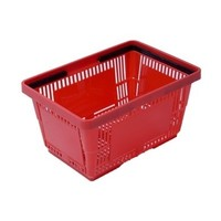 Panier à main 485x330x250mm - rouge