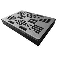 Bac de rétention avec palette - 1280x820x310mm