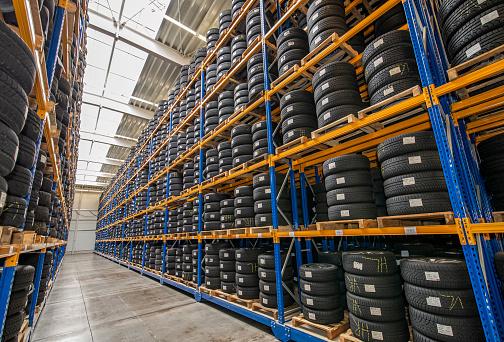Rack à pneus de stockage - Rayonnage industriel - Rotomshop