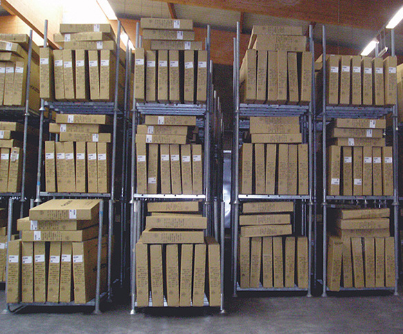Rack mobile de stockage ou palettier - Rotomshop