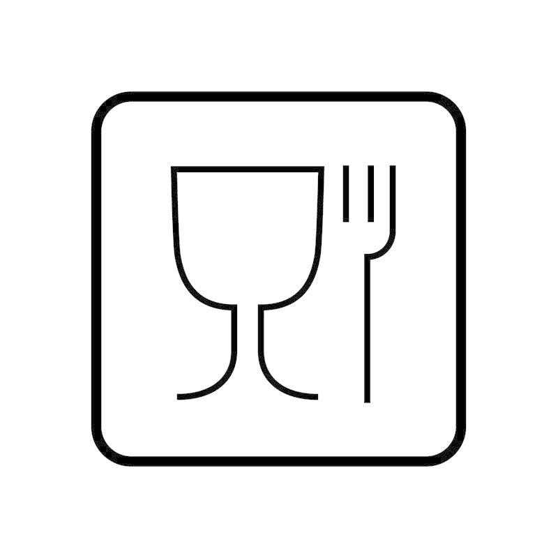 Logo produits plastiques alimentaire