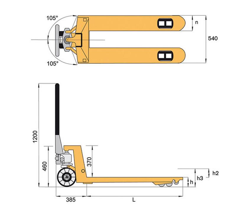 Schema transpalette manuel - Rotomshop