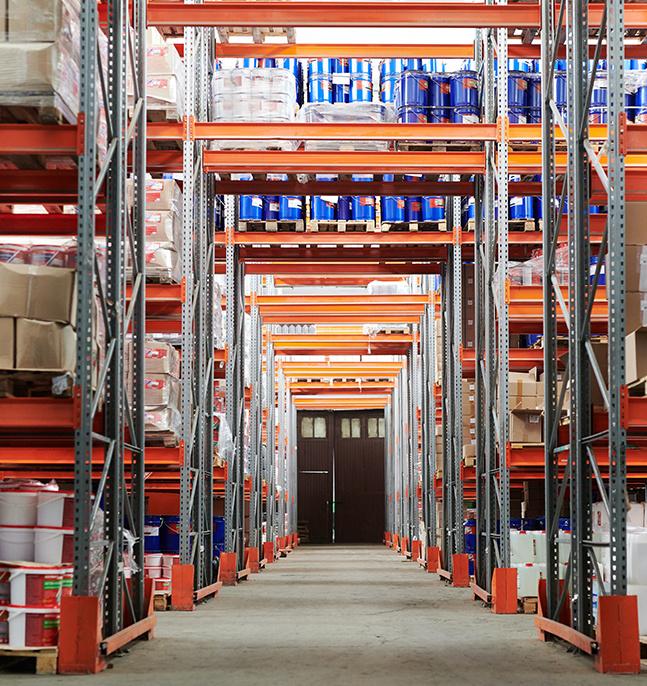 Stockage entrepôt Rotomshop