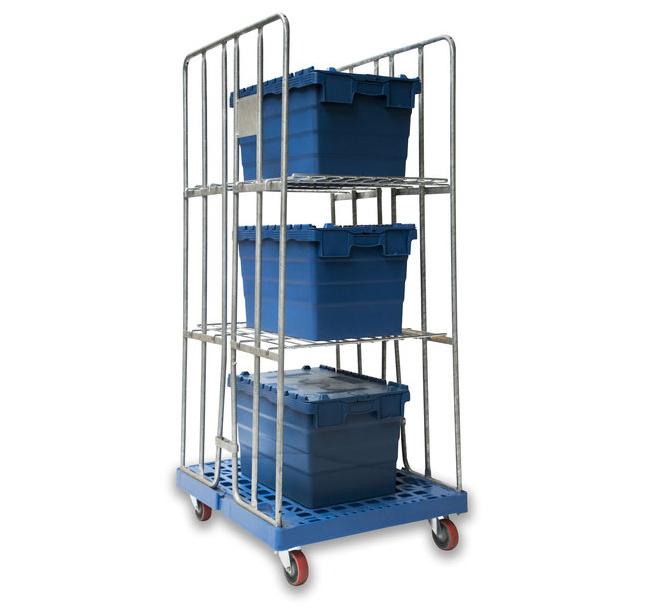 Optimisez votre stockage à l'aide de bacs navettes - Rotomshop