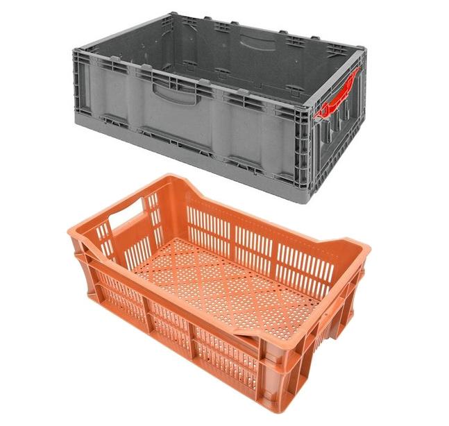 Bacs et Caisses agricoles pour le stockage de fruits et légumes - Rotomshop
