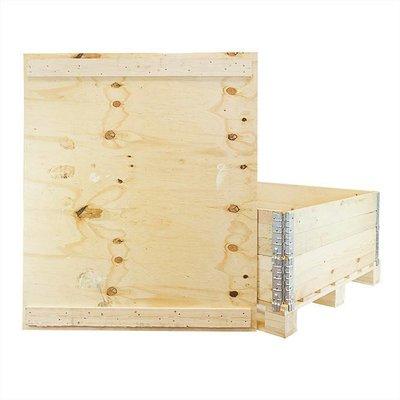 Deckel für Holzaufsatzrahmen mit 2 Befestigungsleisten, 1200x1000x9,5mm