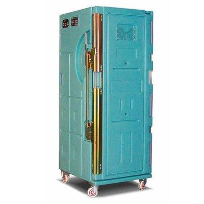 Isotherm Rollbehälter für die Lebensmittelindustrie, 563 l, 715x810x1900mm
