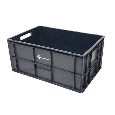 Eurobehälter, geschlossen, 52 Liter, stapelbar, 600x400x270mm