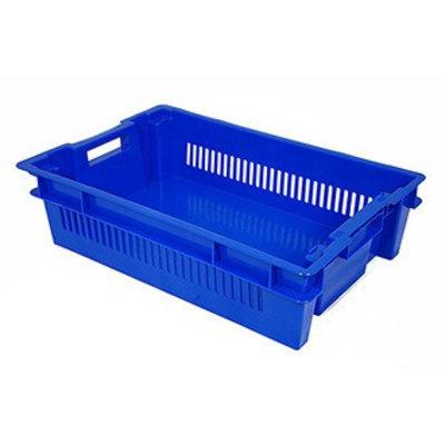 Drehstapelbehälter, geschlossen und durchbrochen, 25 Liter, 600x400x150mm