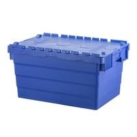Kunststoffbehälter, nestbar, Klappdeckel, 600x400x320mm