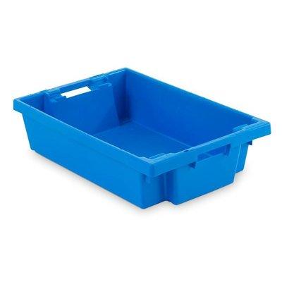 Drehstapelbehälter, geschlossen, nestbar, stapelbar, 25 Liter, 600x400x150mm