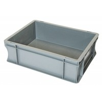 Eurobehälter, geschlossen, 10 Liter, PP-Kunststoff, 400x300x120mm