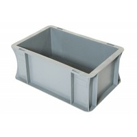 Eurobehälter, geschlossen, 5 Liter, PP-Kunststoff, 300x200x120mm