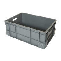Eurobehälter, geschlossen, 45 Liter, PP-Kunststoff, 600x400x220mm