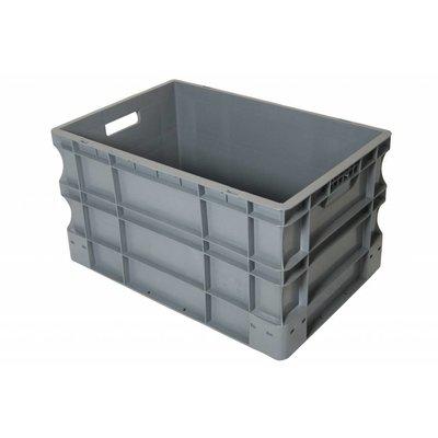 Eurobehälter, geschlossen, 65 Liter, stapelbar, PP-Kunststoff, 600x400x330mm