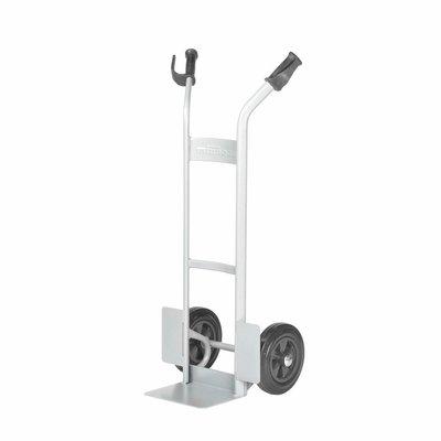 Matador Sackkarre für Fässer Matador NST-150-V, Vollgummi Reifen, Schaufel 280x225mm