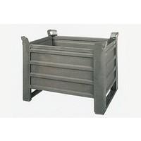 Metallbox, stapelbar, 800x600x600x600mm