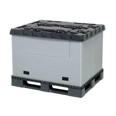 Cajón de plástico plegable 1227x1027x965mm