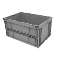 Caja de plástico 600x400x314mm