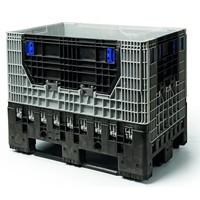 Cajón de plástico plegable 1200x800x975 usado