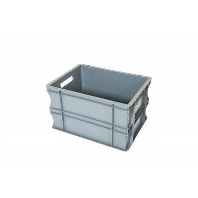 Caja apilable Euronorm 400x300x235mm de plástico PP