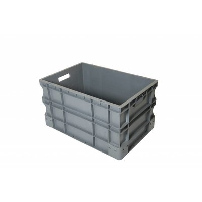 Caja apilable Euronorm 600x400x330mm de plástico PP