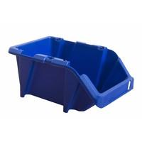 Caja de plástico apilable y encajable 165x103x76mm con apertura