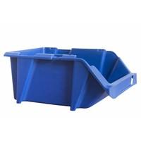 Caja de plástico apilable y encajable 300x200x130mm con apertura