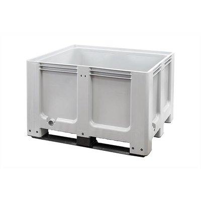 Cajón de plástico 1200x1000x760mm 3 patines usado