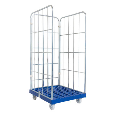 Roll container de 3 laterales 810x720x1620mm