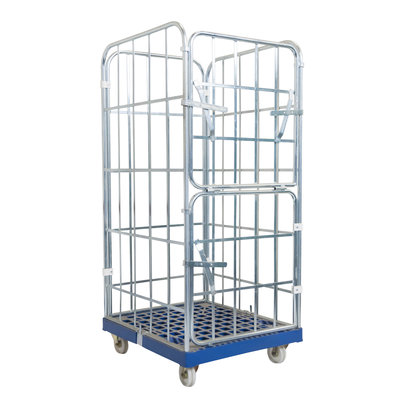 Roll container 810x720x1620mm con 4 laterales encajados