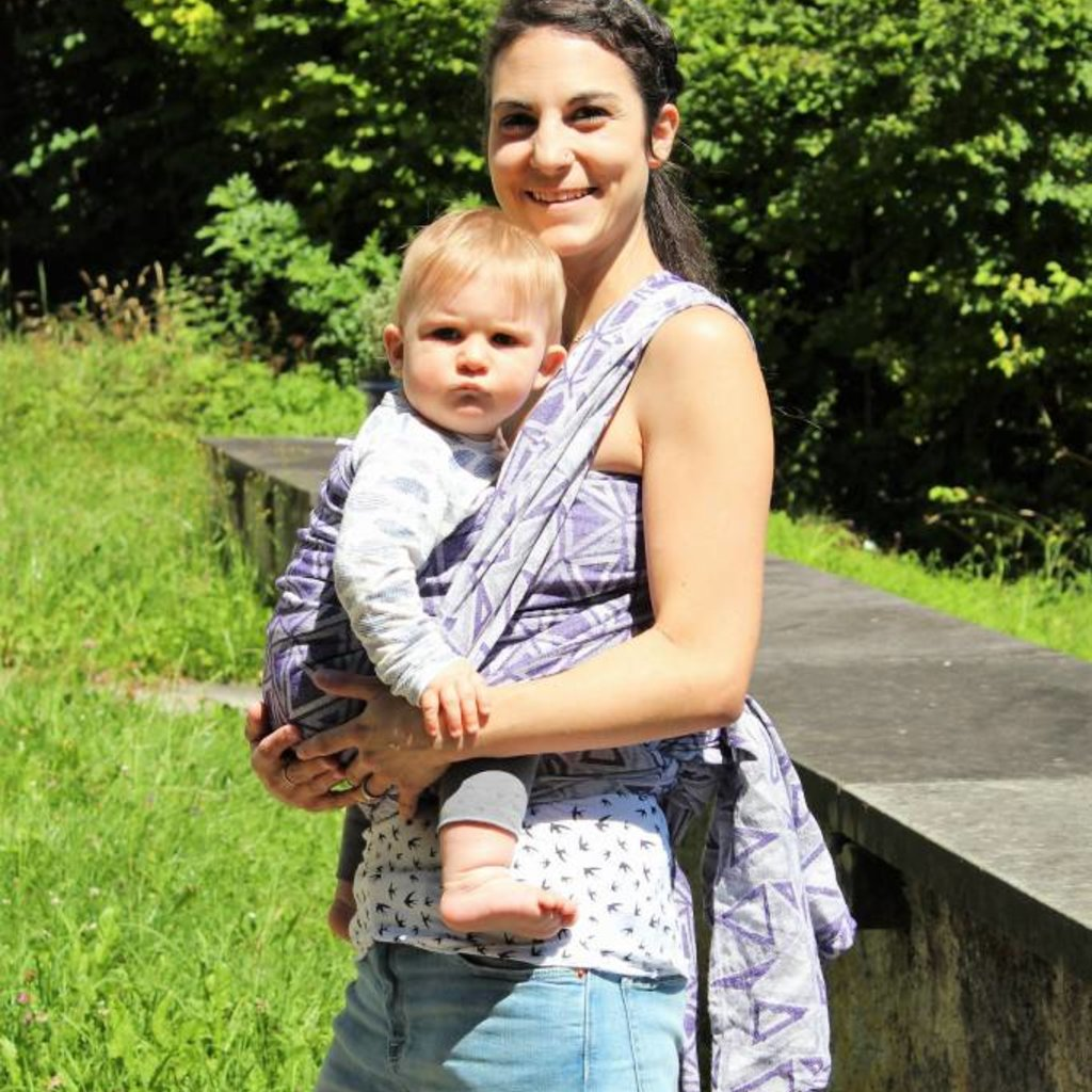 Sveja Babywearing Tragetuch Trekant Laventeli
