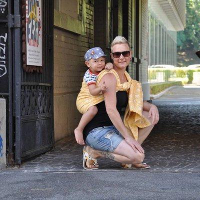 Sveja Babywearing Trekant Aurinko