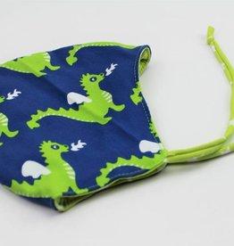 Sveja Babywearing Jerseymütze Drachengrün  Gr. 39-41