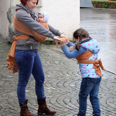 Sveja Babywearing Säsong Appelsin