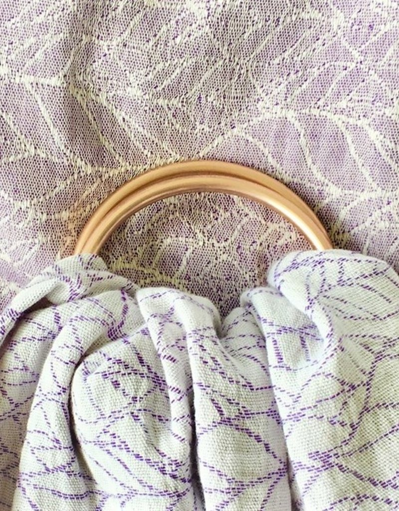 Sveja Ringsling Musselin Lavendel