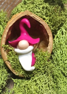 Sveja Miniatur-Wicht/Zwerg pink Walnuss