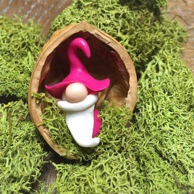 Sveja Babywearing Miniatur-Wicht/Zwerg pink Walnuss