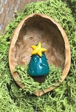 Sveja Miniatur-Tannenbaum Walnuss