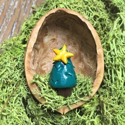 Sveja Babywearing Miniatur-Tannenbaum Walnuss