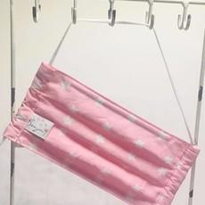 Sveja Handmade Stoffmaske Sterne rosa