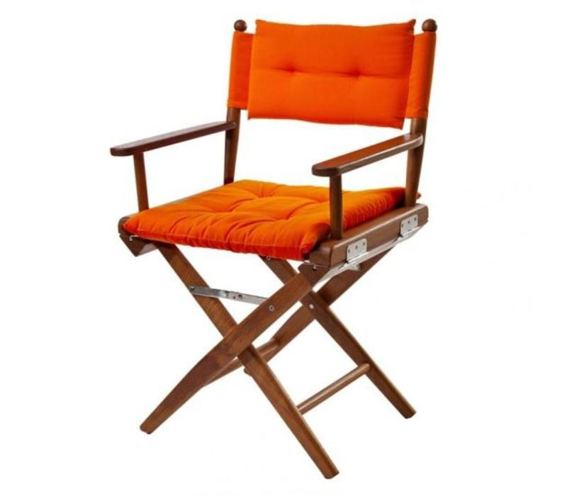 Regisseursstoel oranje deluxe