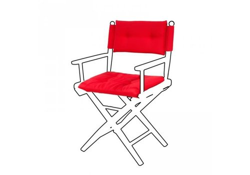 ARC Marine Deluxe kussens voor regisseursstoel I - forza rood