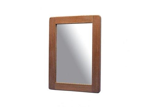 ARC Marine Teak spiegel 25 x 18 cm