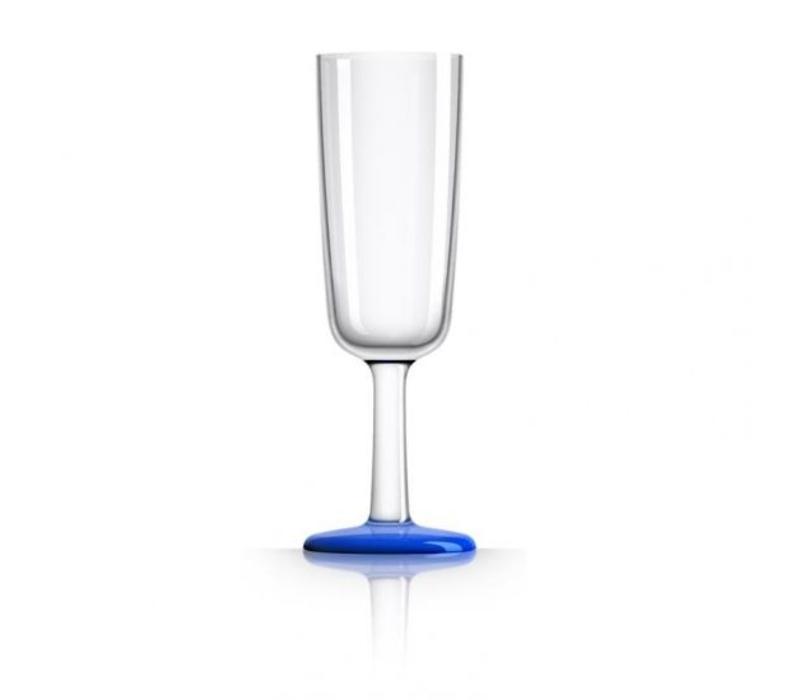 Marc Newson - champagneglas - navy