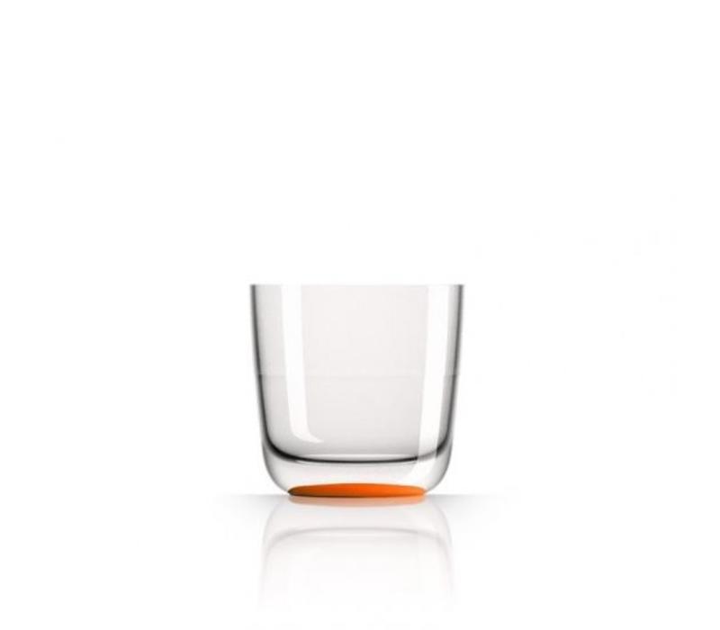 Marc Newson - whiskyglas - oranje